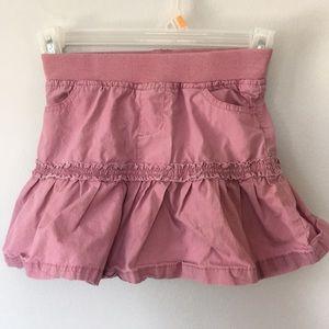 3/$20 Tangerine Basics Pink Ruffle Skirt Size 7